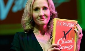 Rowling became the sales leader