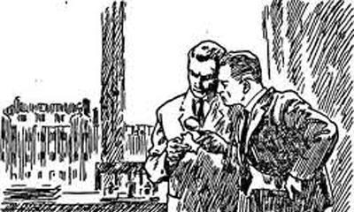 Детективная фантазия и реальное расследование