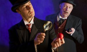 Theatrical experience Conan Doyle