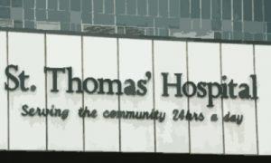 Моэм и больница св. Томаса